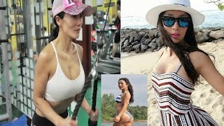 Liu Yelin,  50-year-old fitness fanatic wows Chinese netizens with youthful physique