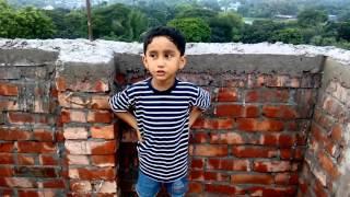 3 years old kid singing Joler Gaan-Patar Gaan-Ami ekta patar chobi aaki