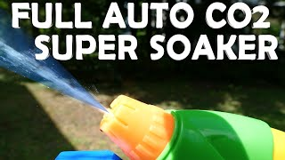 DIY Fully Automatic Super Soaker! - Powerful CO2 Water Gun!!!