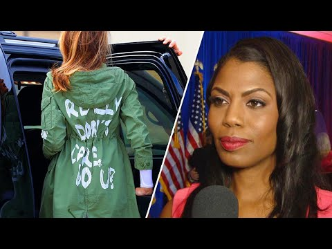 Xxx Mp4 Omarosa Claims Melania Trump Was Punishing President With Don't Care Jacket 3gp Sex