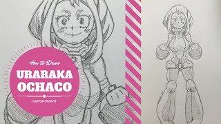 How to Draw Uraraka (Ochaco)