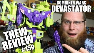 Combiner Wars Devastator: Thew's Awesome Transformers Reviews #159