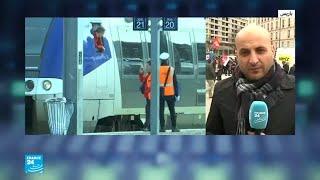 موجة احتجاجات وإضرابات في فرنسا