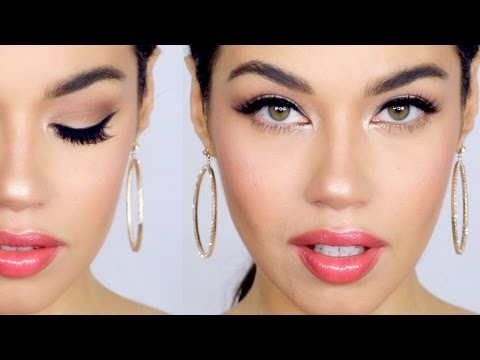 Natural Glam Makeup Tutorial | Eman