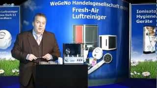 Luftreiniger, Luftreinigung mit Ionisierung, saubere Luft mit Luft-Ionisator Fresh Air by EcoQuest