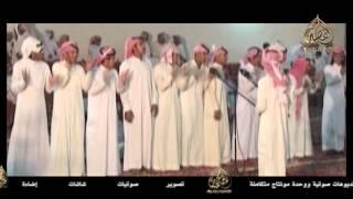 محاورة بين الشاعرين عبد الله الغامدي و إبراهيم الشيخي