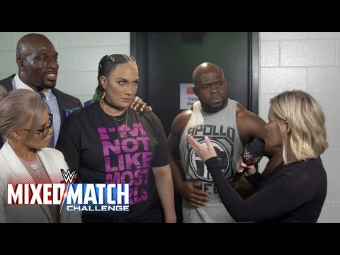 Xxx Mp4 Nia Jax Seeks Help From Above After Being Paired With Apollo Crews In Mixed Match Challenge 3gp Sex