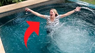 Unexpected Pool Party (family Vlog)
