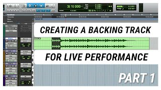 Creating a Backing Track for Live Performance with IEM - Part 1