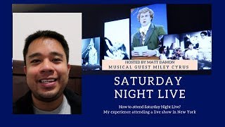 How to get Tickets to Saturday Night Live - What It