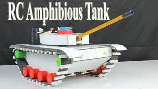 Amazing ! How to make a RC Battle Tank - Diy Amphibious  Tank