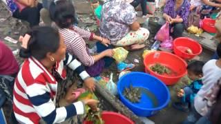 Market in Railway Track near Dimapur Railway Station in Nagaland