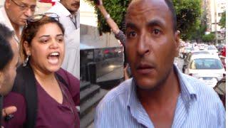 صحفية تلقن مواطن سيساوى محب لاسرائيل درسا قاسيا في ثوانٍ معدودات