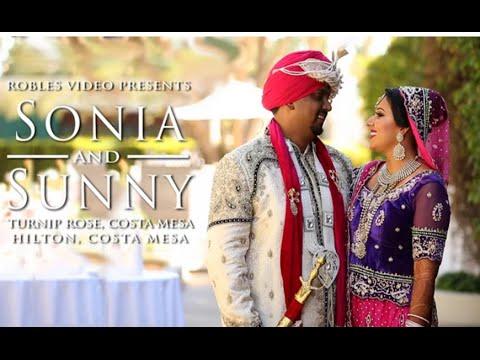 Sonia Sharma & Sunny Singh - Cinematic Wedding Highlight (Punjabi Hindu)