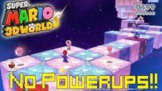 Super Mario 3D World *Final Level* (World Crown: Champion's Road No Power Ups Mario)