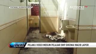 Pelaku Video Mesum Pelajar SMP Dikenai Wajib Lapor