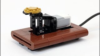 Working LEGO Telegraph and Printer