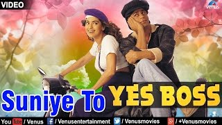 Suniye To - VIDEO SONG | Shah Rukh Khan & Juhi Chawla | Yes Boss | 90s Superhit Bollywood Song