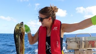 Great fishing Sailing to Cape Verde - Ep 19 Sailing Inspire
