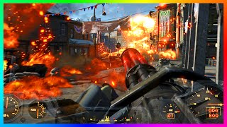 FALLOUT 4 FREE ROAM GAMEPLAY - Rare Weapons, Level 35 Rank, Exploring & MORE! (Fallout 4)