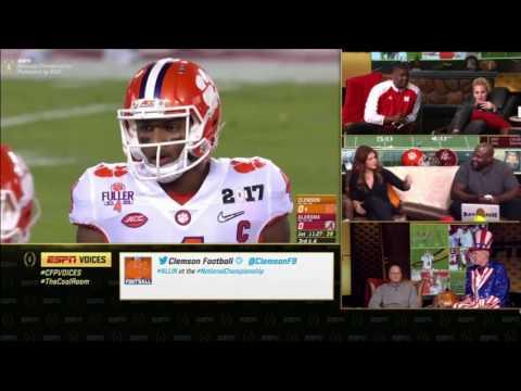 2016 CFP National Championship Voices Megacast 2 Clemson vs. 1 Alabama HQ