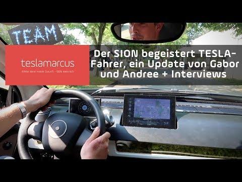 Der SION von SONO MOTORS begeistert TESLA-Fahrer Gabor und Andree + Interviews