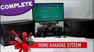 Complete Karaoke System | Karaoke Amplifier | Pearlridge Wireless Mics ✅ Home Karaoke 800-557-SING