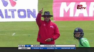 Mustafiz vs Ireland Trination Series (amazing bowling)