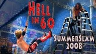 Undertaker vs Edge Hell In A Cell Full Match HD ~ WWE Summerslam 2008