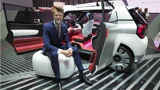 Fiat Centoventi Concept with Klaus Busse, FCA Europe VP of Design