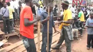 POLICE AND KCCA EVICT STREET VENDORS