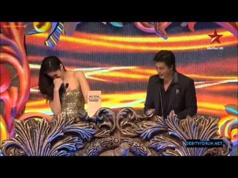 SRK & Katrina Best Romantic Couple _ Big Star Awards 2012