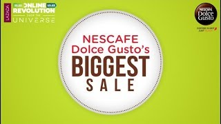 NESCAFE Dolce Gusto's Biggest Sale!