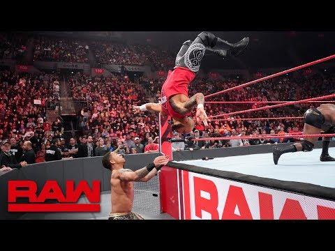 Xxx Mp4 Ricochet Helps Finn Bálor Fight Off Bobby Lashley And Lio Rush Raw Feb 18 2019 3gp Sex