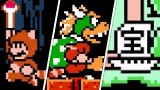 Super Mario Bros. 3 - Secrets & Easter Eggs