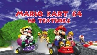 Mario Kart 64 HD Textures