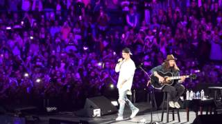 Justin Bieber - As Long as you love me (Acustic Live) Chicago