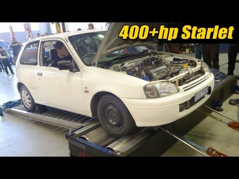 400 hp Starlet sleeper