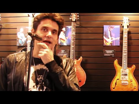 NAMM 2017 | Casually chatting with John Mayer