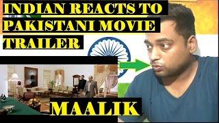 Indian Reacts To Maalik | Pakistani Movie [Hindi/Urdu] [English Sub]