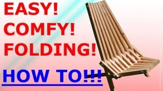 How to make the Folding Stick Chair - Easy Project