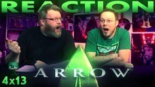 Arrow 4x13 REACTION!!