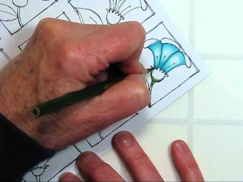 Color Pencil Technique