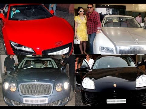 Most Expensive Bollywood Actors and Actresses Cars of 2014