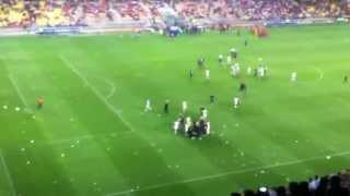 Korea-Iran 0-1, Korean supporters infuriated at Ulsan Munsu Stadium