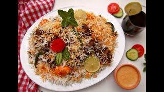 রেস্টুরেন্ট স্টাইলে চিকেন দম বিরিয়ানী || চিকেন কাচ্চি ||  Hyderabadi Chicken Dam Biriani