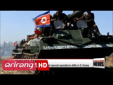 N. Korea threatens strike against special operations drills in S. Korea