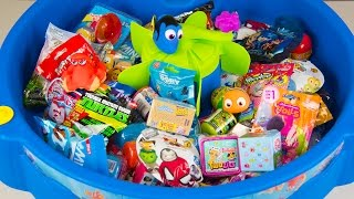 HUGE FINDING DORY SURPRISE POOL Toy Surprise Eggs Disney Toys Boy Toys Girl Toys Kinder Playtime