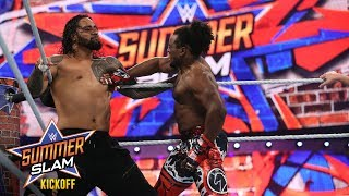 Xavier Woods viciously defends the SmackDown Tag Team Titles: SummerSlam 2017 Kickoff Match