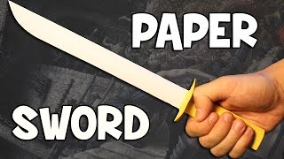 How to make a paper sword | Easy and Fast